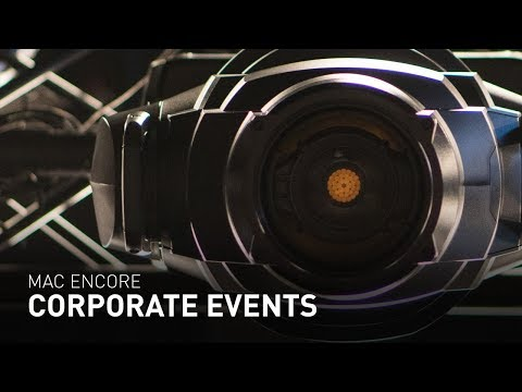 Lighting for Corporate Events - MAC Encore Performance