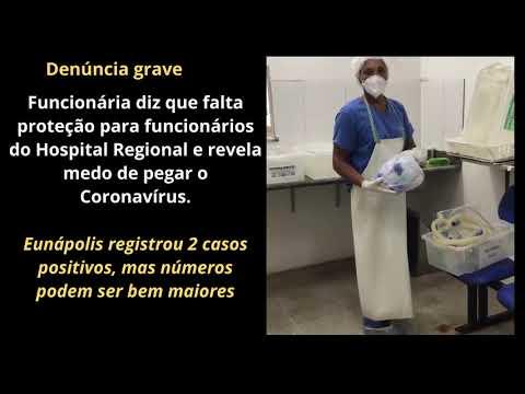 Eunápolis: Funcionária Pública denuncia falta de EPI no combate ao coronavírus