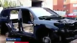 Воры за пару часов разобрали Toyota Land Cruiser!