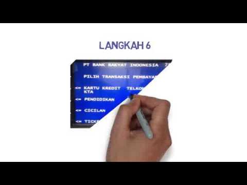 Panduan Pembayaran PNBP melalui ATM BRI