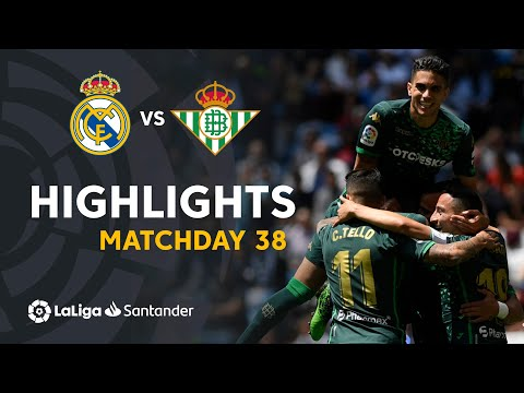 Highlights Real Madrid vs Real Betis (0-2)