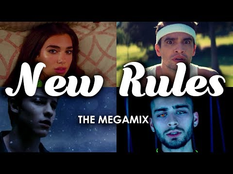 New Rules | The Megamix ft. Rihanna, Shawn Mendes, Zayn, Ariana, Brendon & More!!
