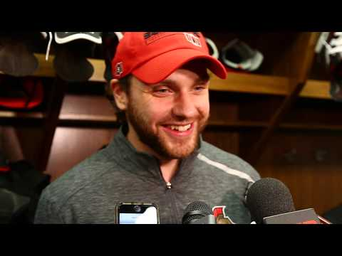 Raw: Ottawa Senators Bobby Ryan talks about the fight with former teammate Kyle Turris