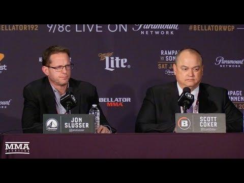 Bellator 192: Scott Coker and Jon Slusser Post-Fight Press Conference - MMA Fighting