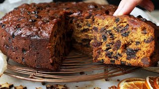 Christmas Cake Recipe - Easy Fruit Cake that's beautifully moist!