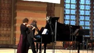 I.Taranenko. Music for Frau Miller.mpg, Viktoria Kaunzner (violine), Ulrich Murtfeld (piano)
