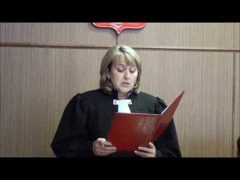 Выступление Соколовского в суде апелляционной инстанции и оглашение приговора