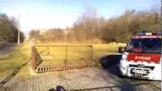 preview picture of video 'OSP Żychcice - wyjazd do pożaru traw.'