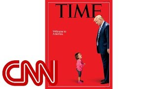 Time defends controversial cover of crying girl