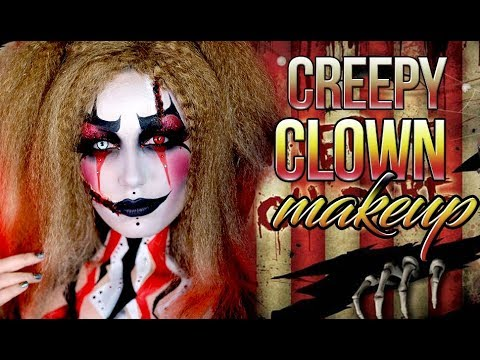 Circus Clown | IT Not Pennywise | Halloween  Makeup Tutorial 2017 | Victoria Lyn Beauty
