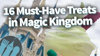 The 16 MOST EXCLUSIVE Must-Eat Treats In Disney World's Magic Kingdom!