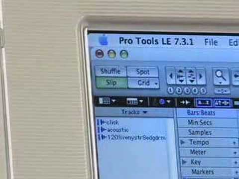 Intermediate Pro Tools Tutorial: Part 4: The Edit Modes