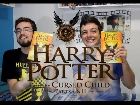 HARRY POTTER AND THE CURSED CHILD - J. K. Rowling (Lançamento, Edições e História) | #Luago
