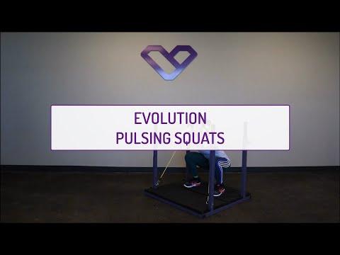 Evolution Pulsing Squats