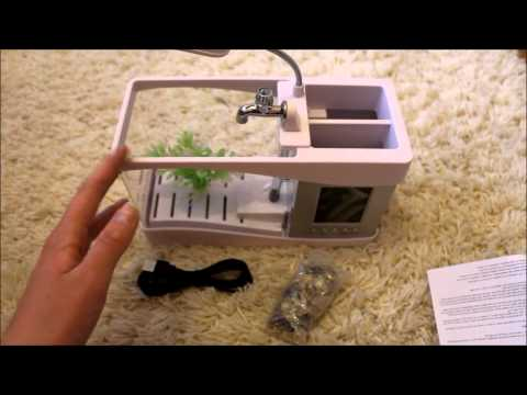 USB Fish Tank Review *Can it house live fish? Definitely Not!*