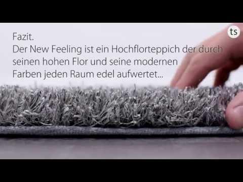Schöner Wohnen New Feeling Hochflorteppich im Wunschmaß 6161