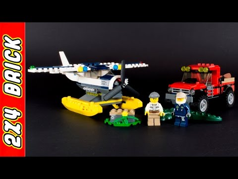 Vidéo LEGO City 60070 : La poursuite en hydravion
