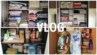 VLOG: 🧹 Напала Золушка / Расхламляю шкаф / Выкидываю еду
