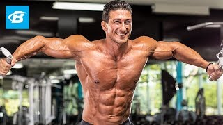 Sadik Hadzovic's Chiseled Chest Workout | IFBB Pro by Bodybuilding.com