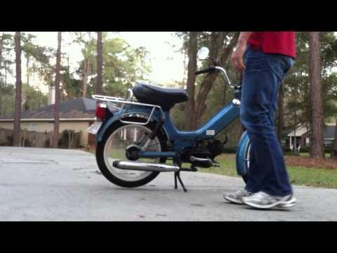 1980's Tomos Bullet Moped - смотреть онлайн на Hah Life