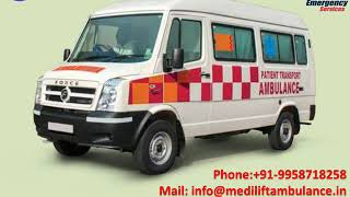 Best and Cost-Effective Ambulance Service in Karolbagh and Chattarpur Delhi