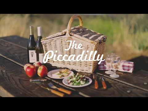 Picnic Time Piccadilly Picnic Basket Mp3