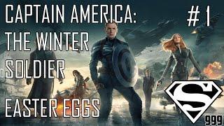Captain America: The Winter Soldier: Hidden Easter Eggs & Secrets Part # 1