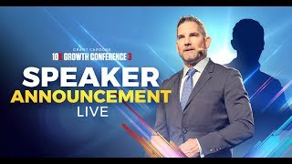 10X Growth Conference 3 BIG ANNOUNCEMENT LIVE at 5PM EST