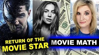 Box Office for Venom, A Star is Born Opening Weekend