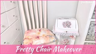 DIY | Chair Makeover |  Shabby Chic | Homemade Chalk Paint Recipe