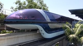Cab ride Disneyland Monorail at the Disneyland Resort in Anaheim
