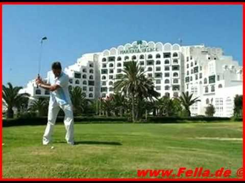 Tunesien Marhaba Palace Port el Kantaoui Monastir Golfhotel Strandurlaub www.Fella.de Bilder Fotos