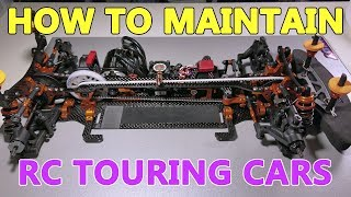 How to maintain your RC touring car