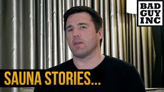 Sauna stories with Coach Chael...