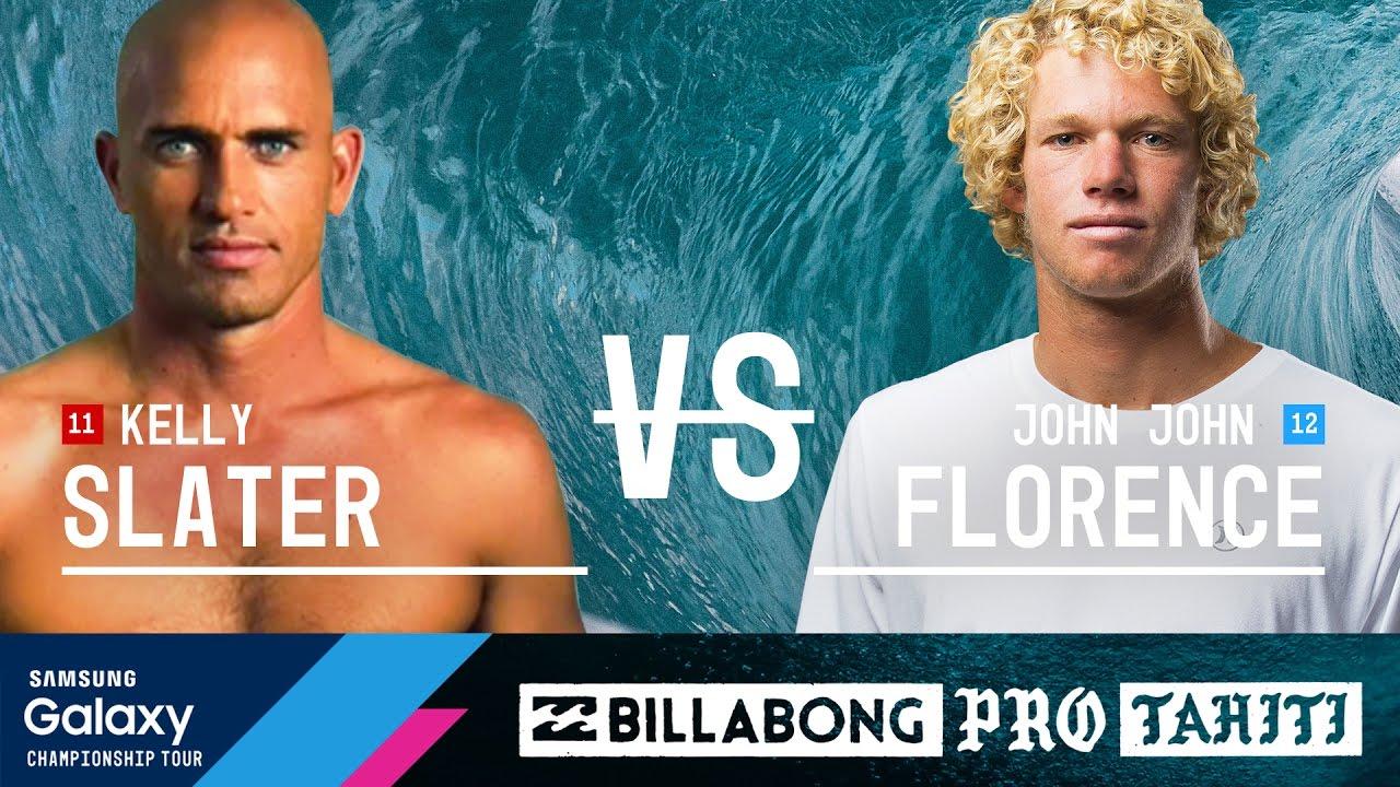 Kelly Slater vs John John Florence - Billabong Pro Tahiti 2016 Final