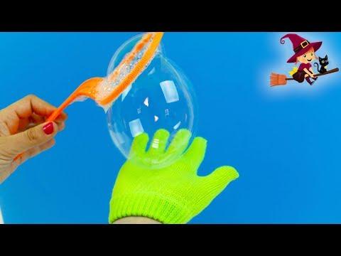 Jugamos con Burbujas de Jabón y con un Guante Especial