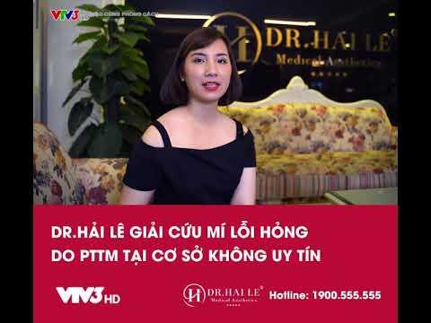 VTV3: Giải cứu mí hỏng DEEP TECH20 tại Dr.Hải Lê