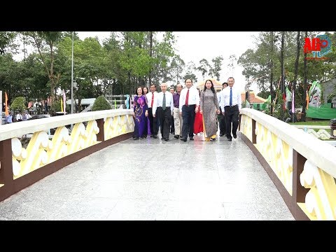 Đoàn công tác Ủy ban Trung ương MTTQ Việt Nam dâng hoa, dâng hương Đền thờ Chủ tịch Tôn Đức Thắng