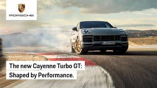 The New Porsche Cayenne Turbo GT