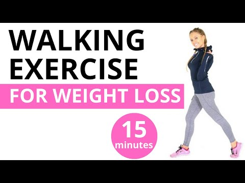 HOME WORKOUT - 15 MINUTE WALKING WORKOUT FOR WEIGHT LOSS  -  Burn Calories At Home  START NOW