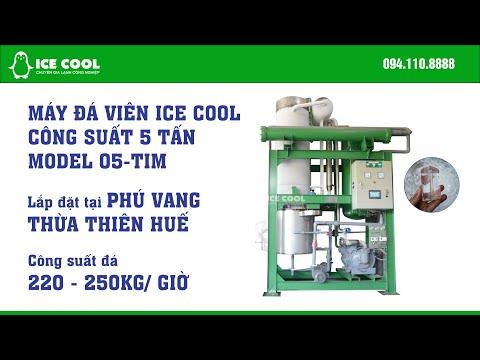 Máy làm đá viên ICE COOL 5 tấn lắp tại Phú Vang, Huế