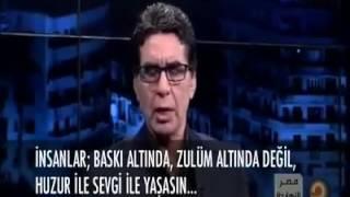 mısırlı sunucu  Türkiyedeki seçimleri değerlendiriyor