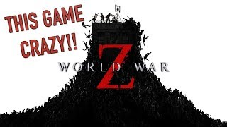 WE LIVE: FUNNY WORLD WAR Z GAMEPLAY!