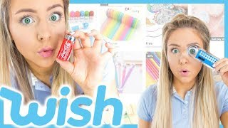 Free Back To School Supplies From Wish ! Success or Disaster ?