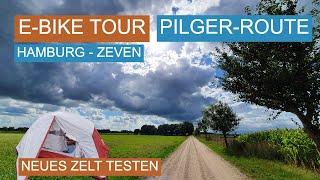 [1/2] E-Bike Wochenendtour auf der EuroVelo 3 Pilgerroute - neues Zelt testen