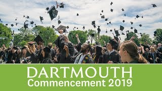 Dartmouth Commencement 2019