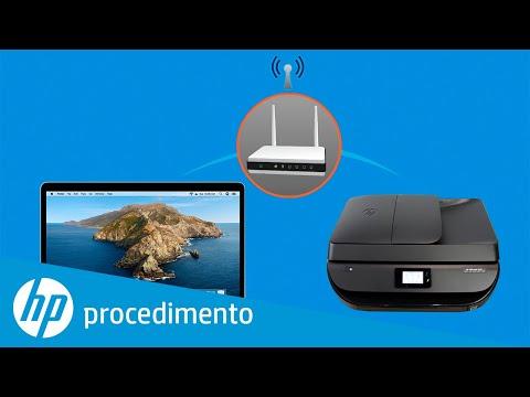 Como configurar uma impressora HP sem fio usando o HP Smart no macOS