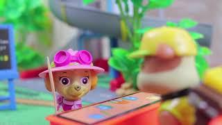 Щенячий патруль видео для детей Крепыш Сладкоежка Мармеладная еда Самые Новые #Мультфильмы 2017