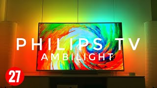 Philips Tv 55PUS7803/12  Review Ambilight 55 Zoll 4k UHD TV