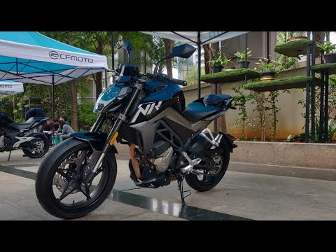 Motoroctane Youtube Video - CF Moto 300NK - Duke 250 Competition Launched | Hindi | MotorOctane